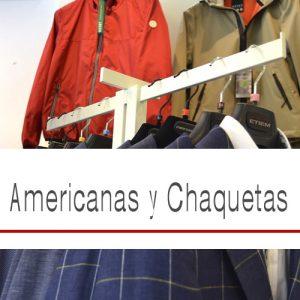 AMERICANAS Y CHAQUETAS
